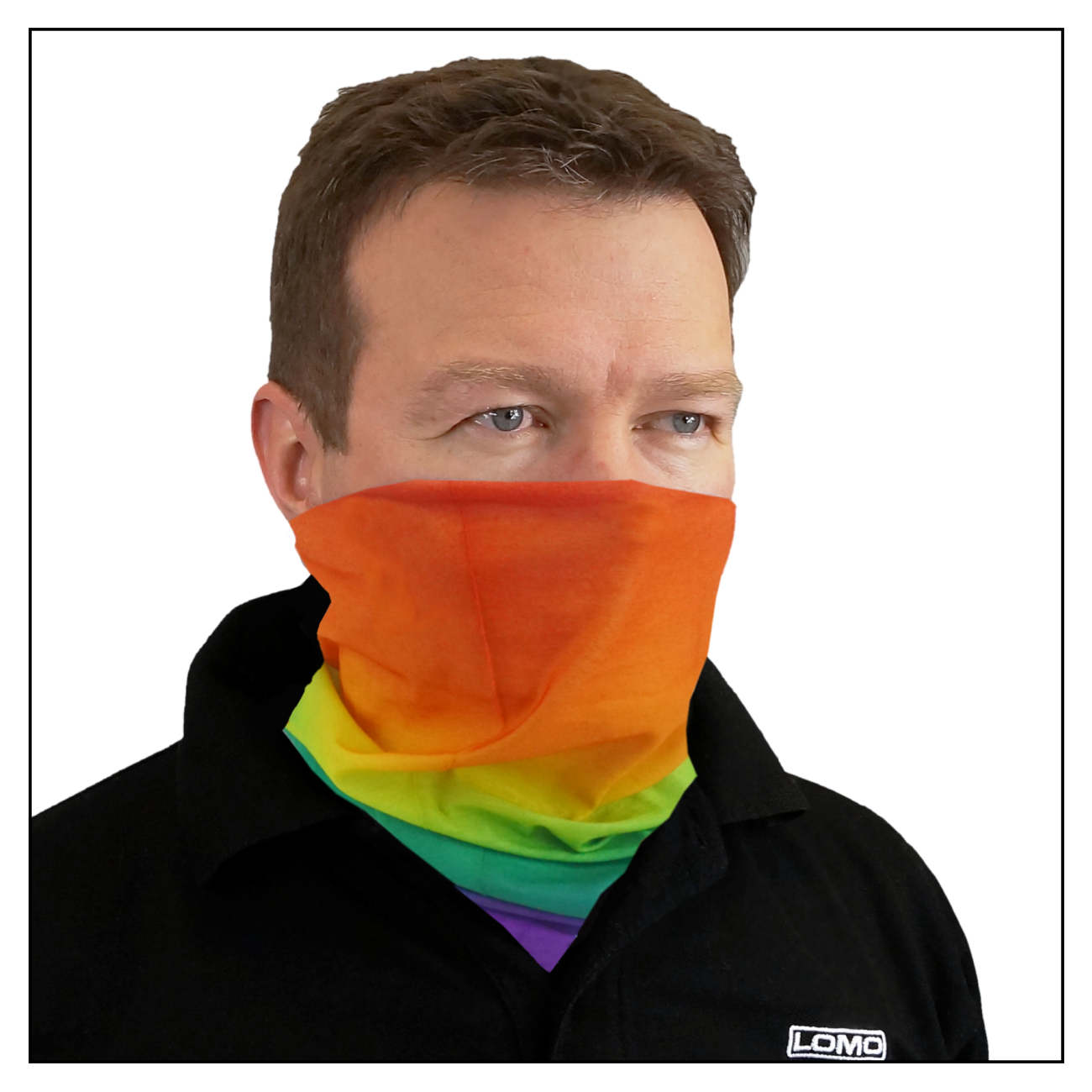 Headover Tube Scarf - Rainbow