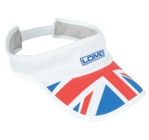 Triathlon Running Visor - Union Jack