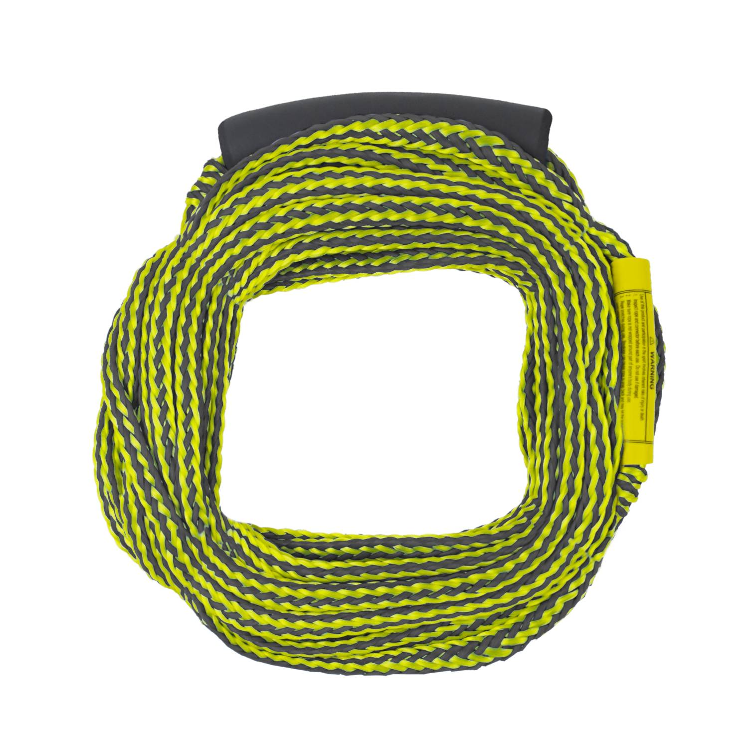 Waterski Tow Rope - Yellow & Black - 60'