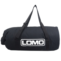 150L Monster Drybags - Black with Window