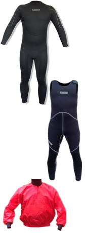Kayak Wetsuits