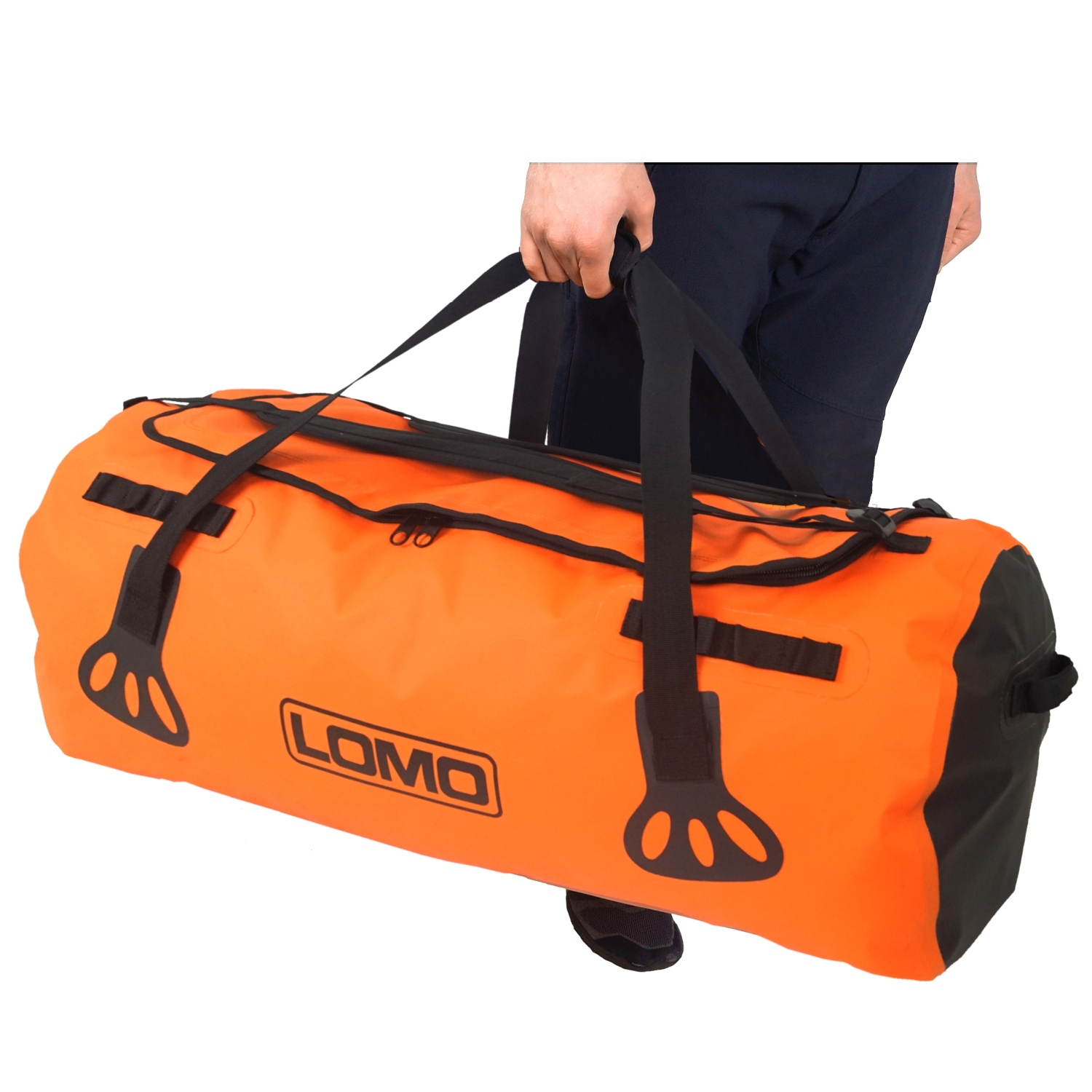 Blaze 100L Expedition Backpack Holdall - Using Carry Handles ... 874b4fd4a2439