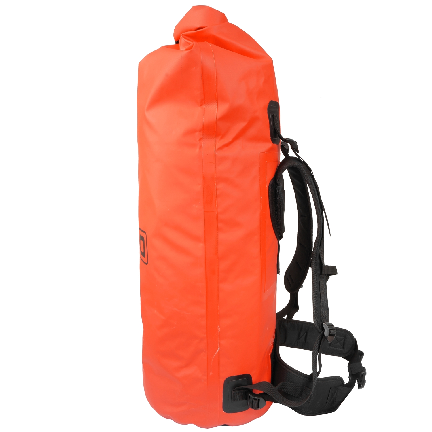 be20de8a03 ... 60L Dry Bag Rucksack Red - Side View ...
