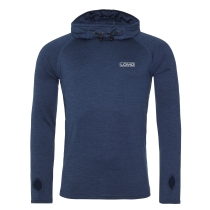 Long Sleeve Running / Training Hooded Top - Blue
