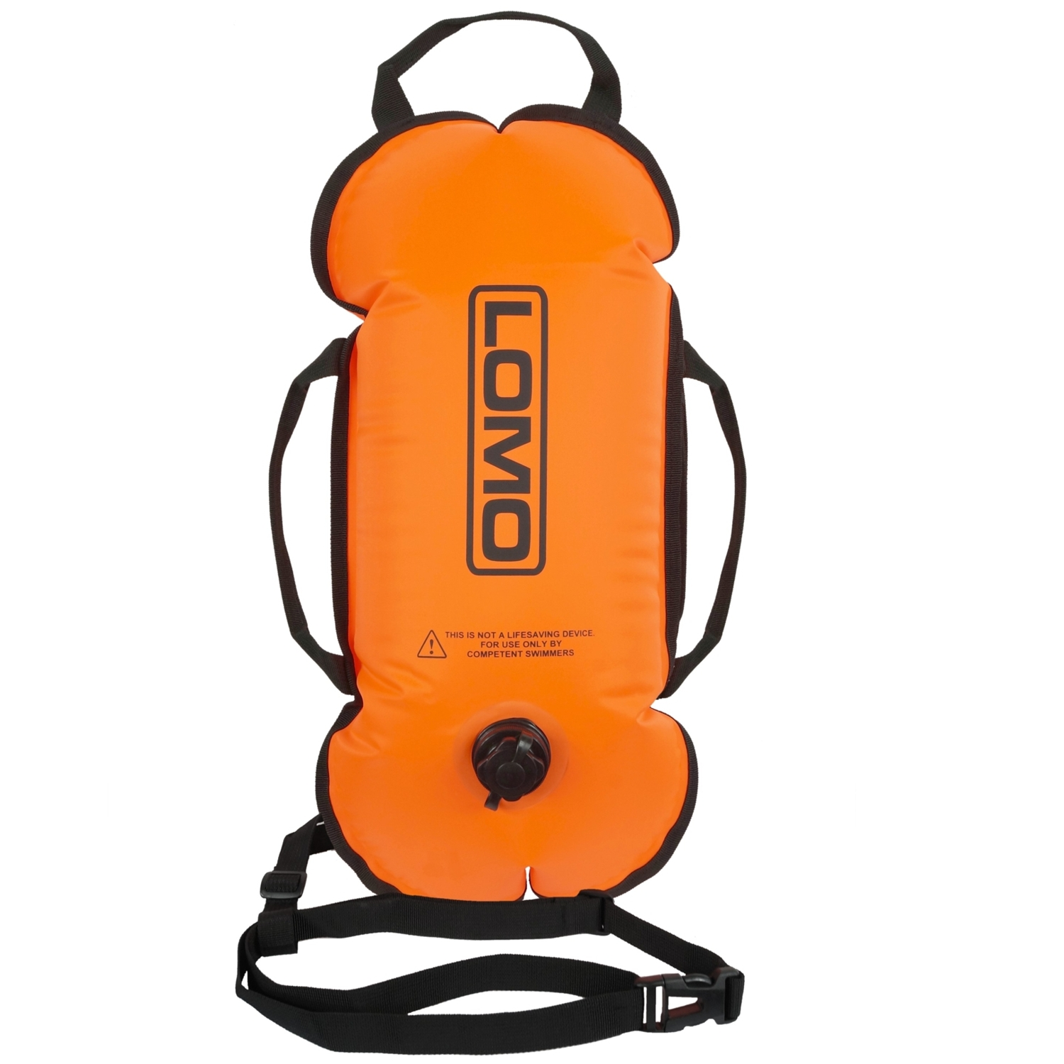 Orange Swimming Tow Float - Front View ... acb9ccee5